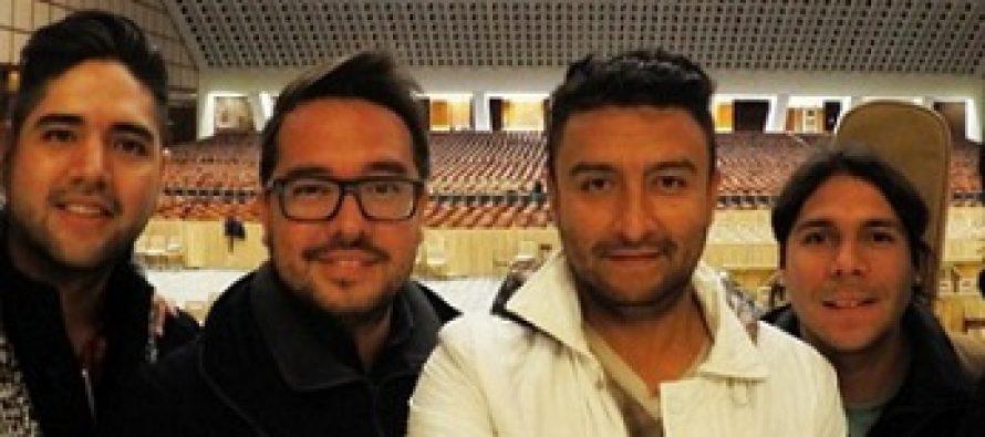 """Alex Campos y Rescate cantan en concierto """"Siendo Uno en Jesús"""" en el Vaticano"""
