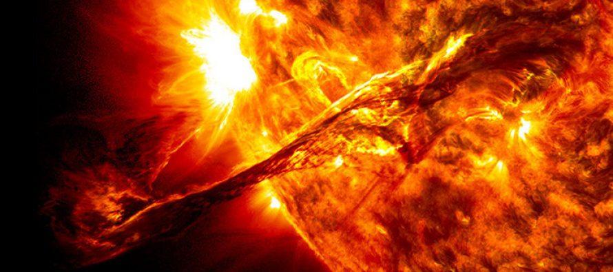 Una peligrosa mancha solar está a punto de posicionarse frente a la Tierra