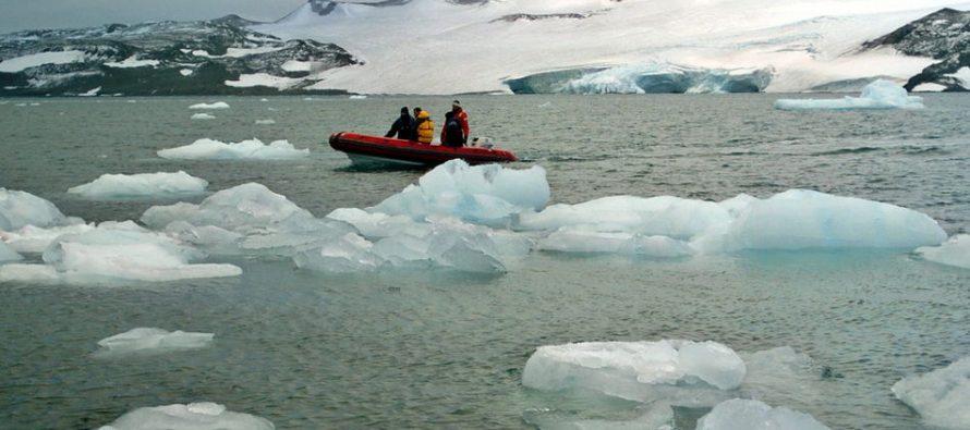 Deshielo en la Antártida esta subiendo el nivel del mar