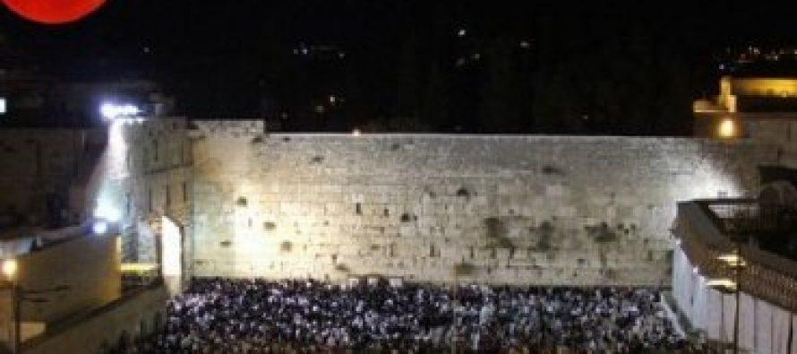 Las lunas se sangre son una señal para Israel, asegura escatólogo