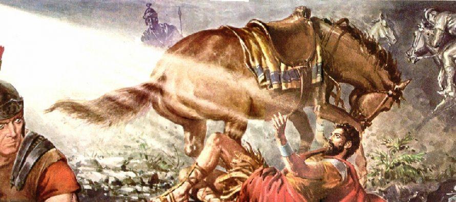 Científico afirma que Pablo vio un meteorito y no a Jesús cuando iba camino a Damasco