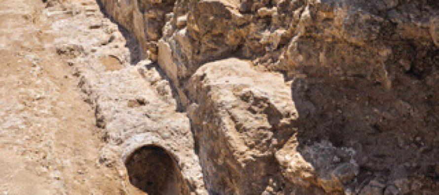 Descubren una sección del acueducto en Jerusalén de mas de 2000 años.