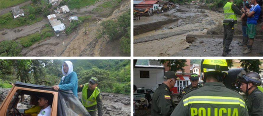 Deslave 'borra' un poblado en Colombia; al menos 61 muertos