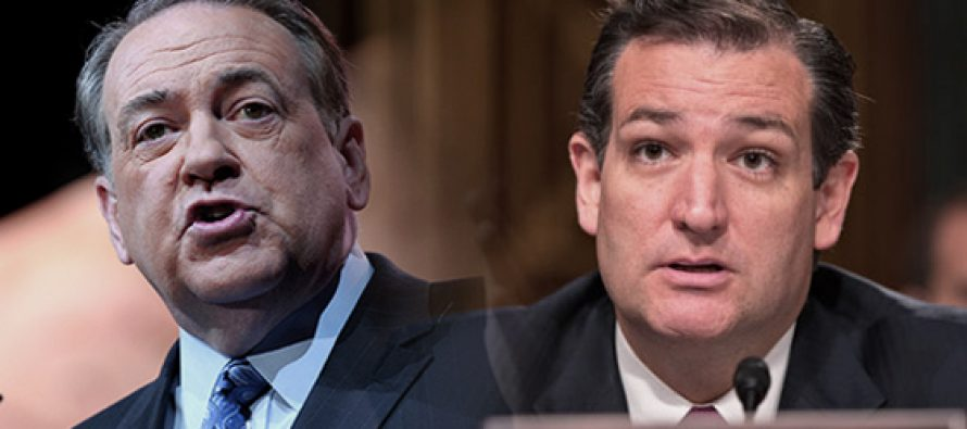EEUU: Cruz y Huckabee compiten por votos evangélicos