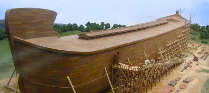 Inicia la construcción del Arca de Noé en EE.UU.