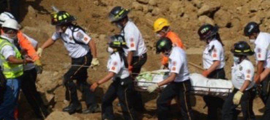 Encuentran cristianos muertos tras el derrumbe en Guatemala