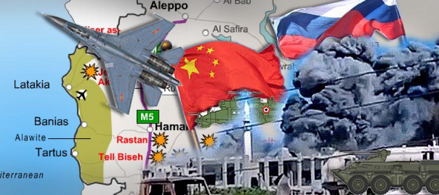 Aviones de combate chinos se unirán a los ataques aéreos rusos en Siria
