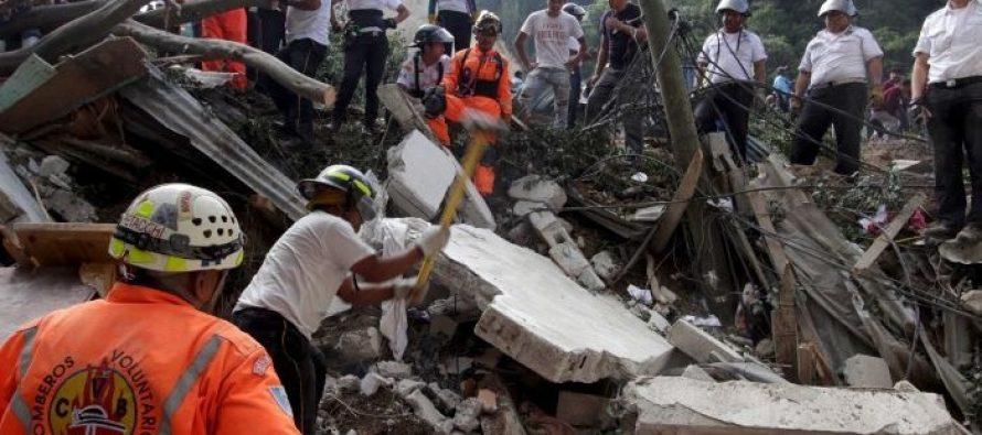 Al menos 59 personas han muerto y 600 desaparecidos tras deslave en Guatemala
