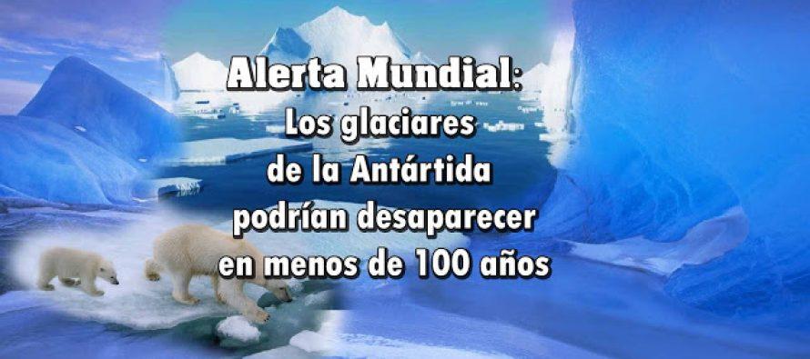 Alarma Mundial: Los glaciares de la Antártida podrían desaparecer en menos de 100 años