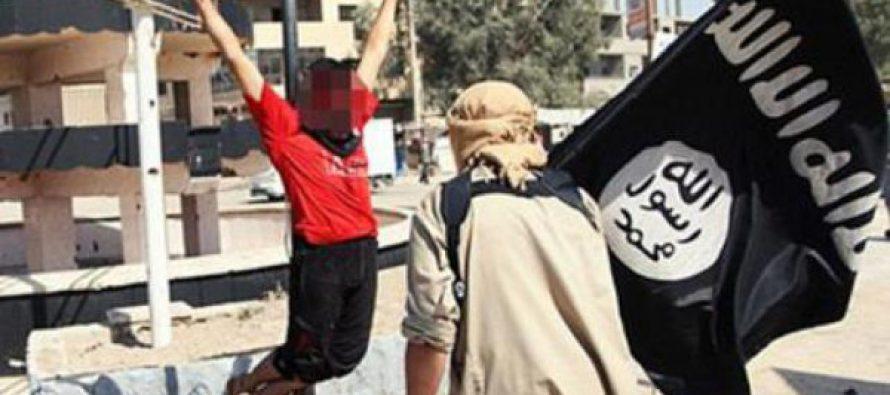El ISIS tortura y crucifica junto a su padre a un niño de doce años por no convertirse al Islam