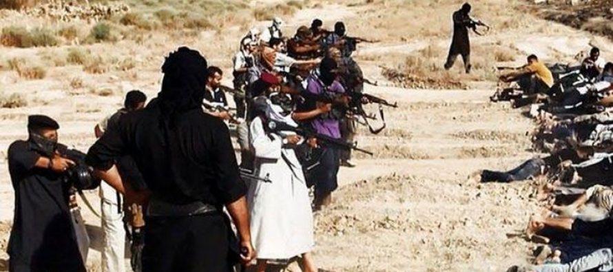Estado Islámico fusila a mas de 200 personas en Siria