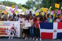 Marcha de evangélicos dominicanos instan al gobierno no legislar contra la familia
