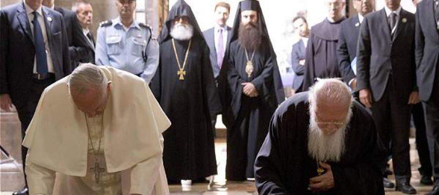 """¿Plan ecuménico? Papa Francisco dice Debemos unir a los cristianos y todas la religiones con los musulmanes"""""""