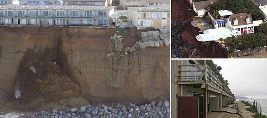 EE.UU.: Ciudad de California al borde del precipicio por la crecida del nivel de mar