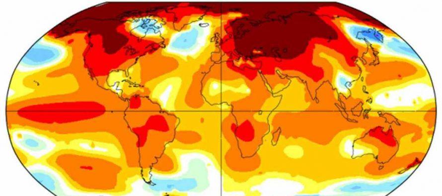 La temperatura del planeta llegó a niveles alarmantes jamas vistos