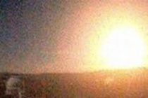 Mas señales: Cae un meteorito en Córdoba y genera una gran bola de fuego