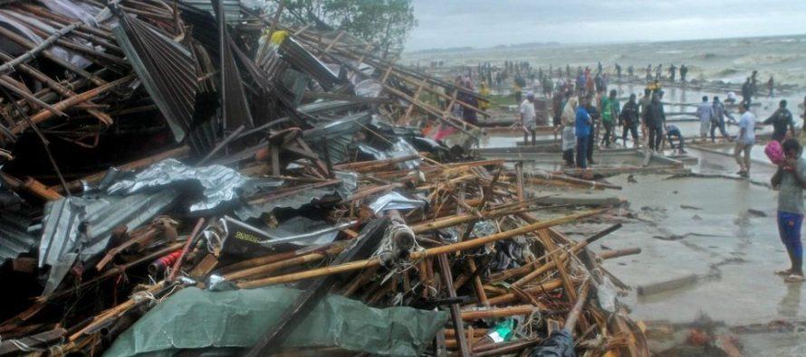 Ciclón Roanu provoca 20 muertes y obliga a la evacuación de 500.000 personas en Bangladés