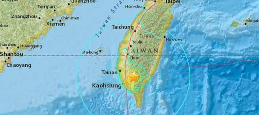 Terremoto de magnitud 7,2 sacude Taiwán