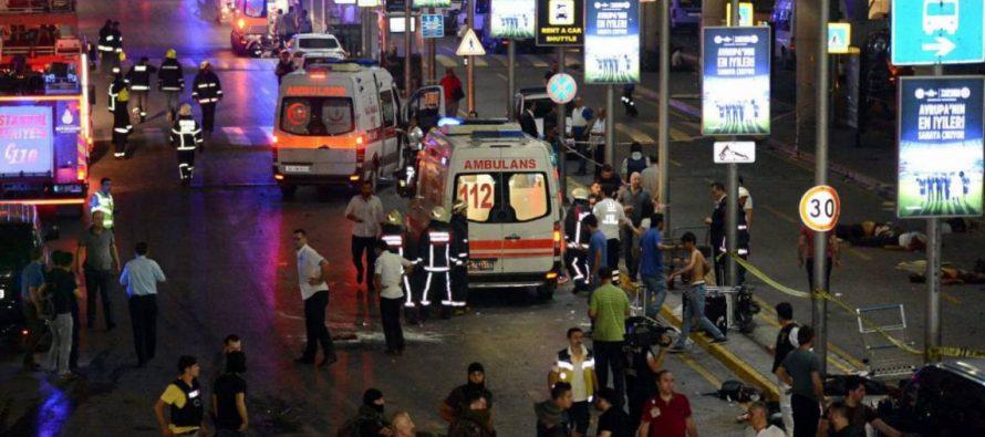 Atentado del IS en el aeropuerto de Estambul: 41 muertos y 239 heridos