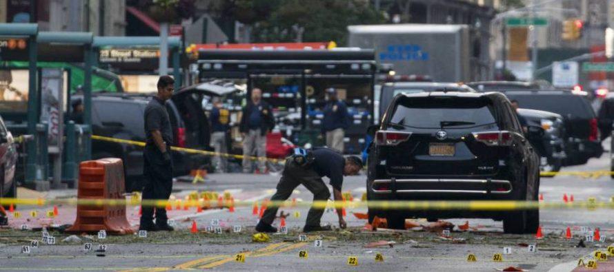 La explosión de una bomba en Nueva York causa una treintena de heridos