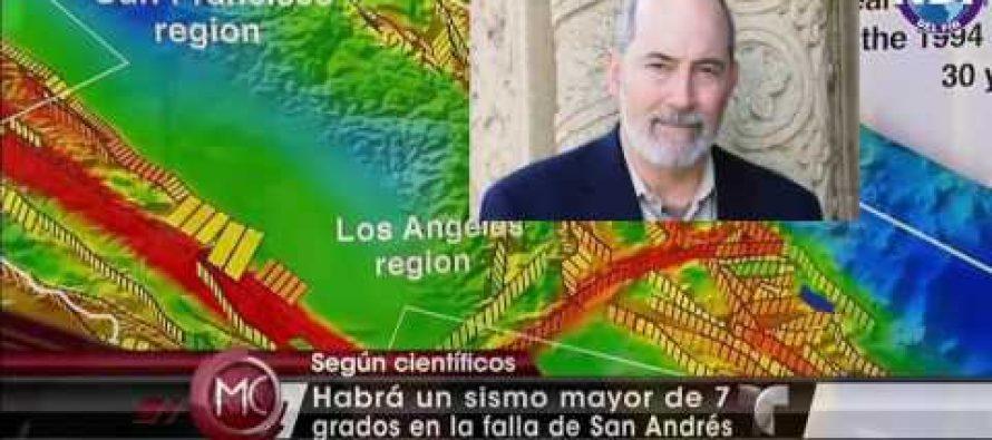 Registran más de un centenar de temblores cerca de la peligrosa falla de San Andrés