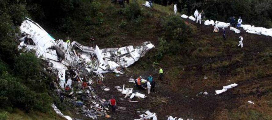 71 muertos tras estrellarse un avión en el que viajaba equipo brasileño de fútbol