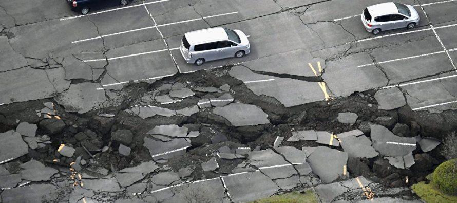 Fukushima, Japon, sacudida por un fuerte terremoto de 7,3
