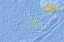 Un fuerte sismo de magnitud de 6,9 sacude el océano Pacífico