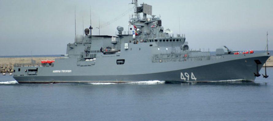 Rusia envía un barco de guerra al Mediterráneo tras ataque de EE.UU. a Siria