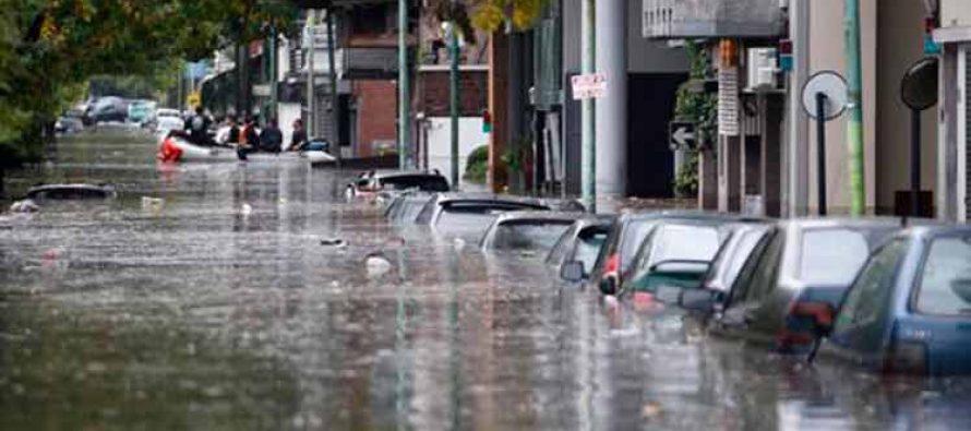 Fuertes lluvias afectan a varias provincias argentinas