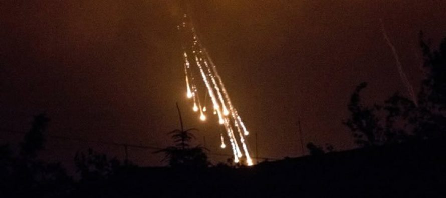 Nuevos bombardeos en Siria en Idlib: Lanzan ataque químico con fósforo blanco