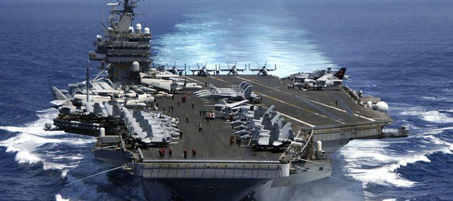 Trump ordena el despliegue de un portaviones frente a la península de Corea. Guerras y rumores de guerra
