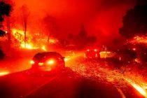 Los fuertes vientos amenazan con extender EL FUEGO de California