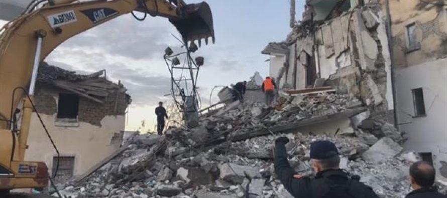 Al menos 20 muertos en Albania tras un terremoto de magnitud 6,4