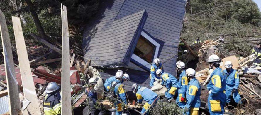 Un terremoto de 6,2 grados sacude el este de Japón