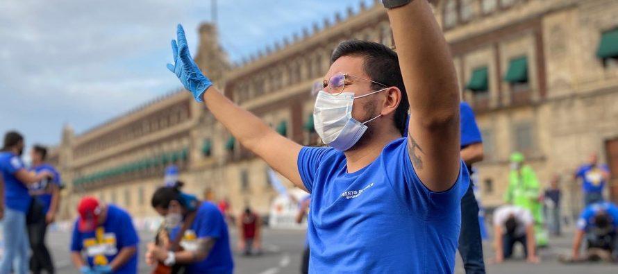 Cristianos se reúnen nuevamente en las calles de México para orar por sanidad