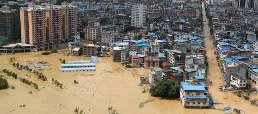 China registra 120 muertes tras lluvias e inundaciones