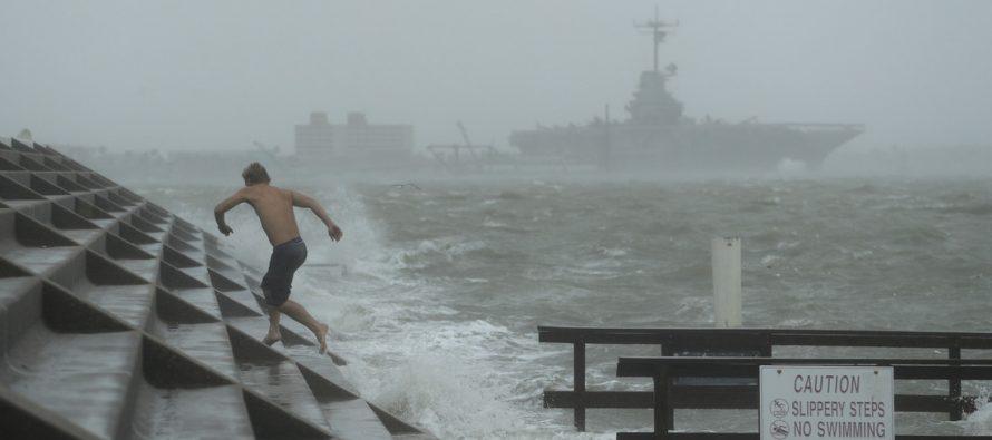 Captan la magnitud del huracán Hanna visto desde el espacio (FOTO)