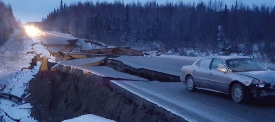 Fotos y videos del sismo en Alaska, así huyen tras alerta de tsunami