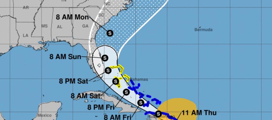 (Videos) Tormenta tropical Isaías deja graves inundaciones en Puerto Rico en dirección a Florida