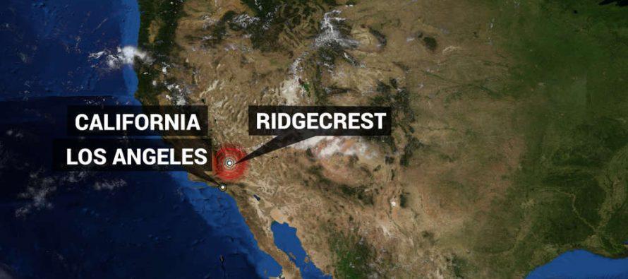 California : Un enjambre de sismos sacuden el área cerca del Mar de Saltón