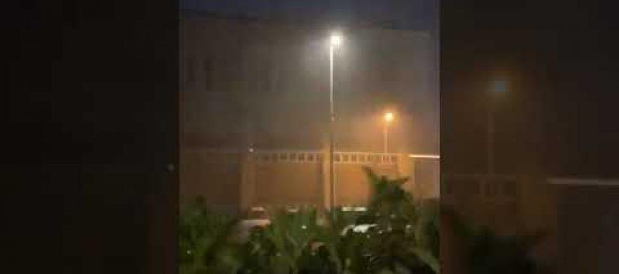 (Videos) Severa tormenta con vientos huracanados golpea Alessandria . Itaia